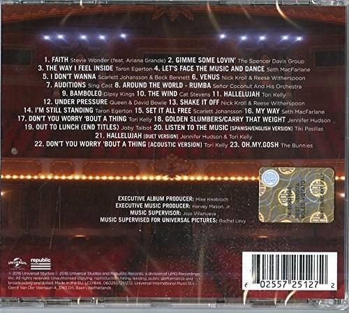 Soundtrack Sing Original Motion Picture Soundtrack