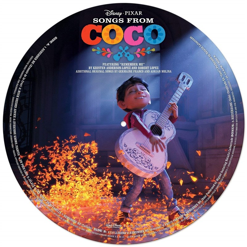 SOUNDTRACK - DISNEY - Songs From Coco (Picture Disc) - LP