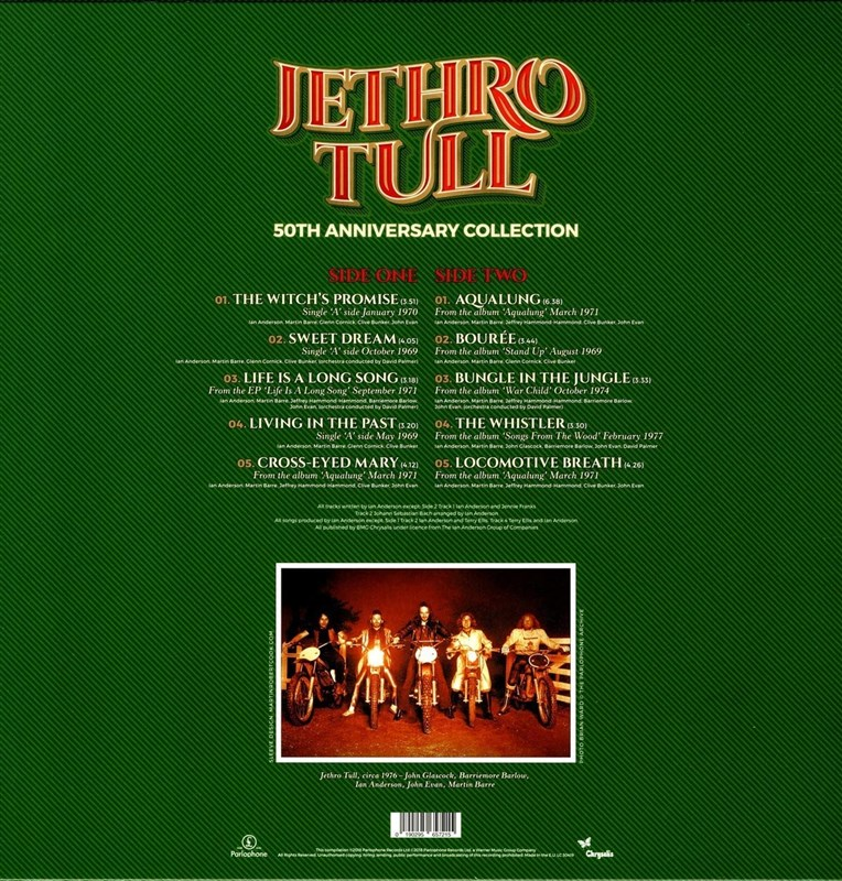 JETHRO TULL - 50th Anniversary Collection - LP