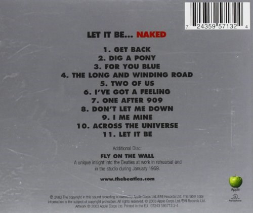 The Beatles Let It Be Naked Japan 13
