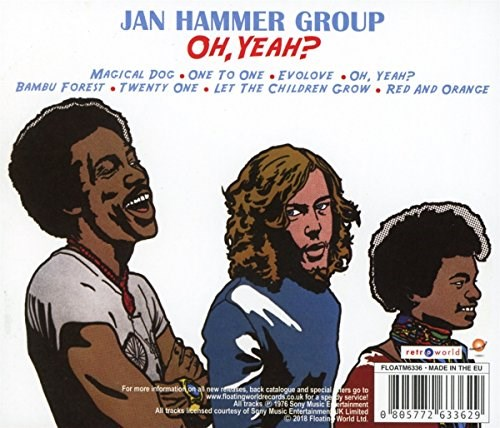 JAN HAMMER GROUP - Oh Yeah?