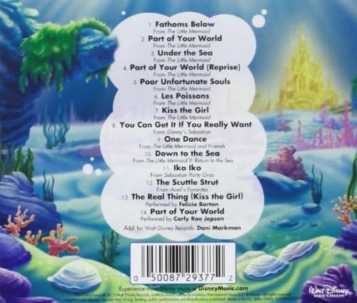 Soundtrack Disney The Little Mermaid Greatest Hits