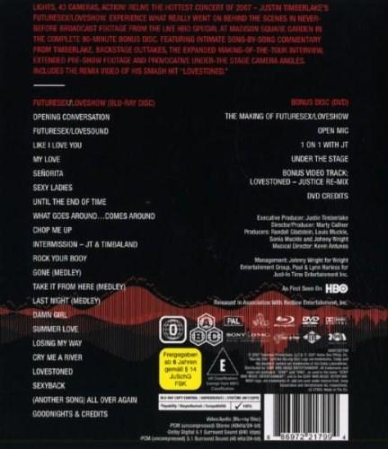 Justin timberlake future sex dvd