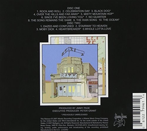Led Zeppelin The Song Remains The Same Remastered