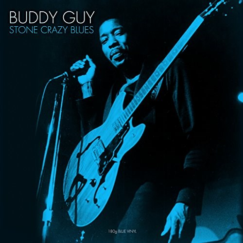 BUDDY GUY - Stone Crazy Blues (Blue vinyl) - LP