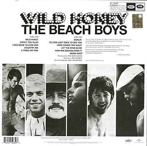 BEACH BOYS - Wild Honey - LP