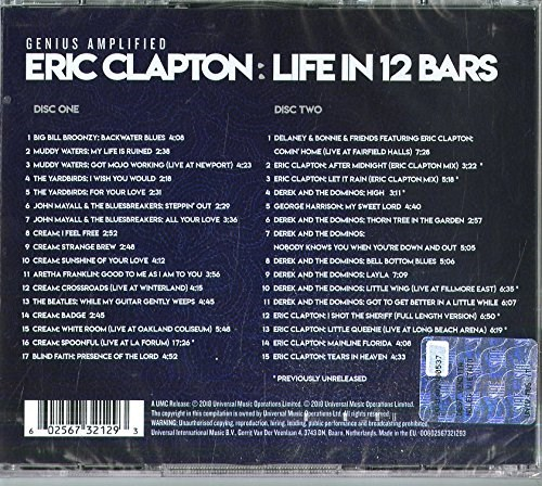 SOUNDTRACK - Eric Clapton: Life In 12 Bars [2CD]