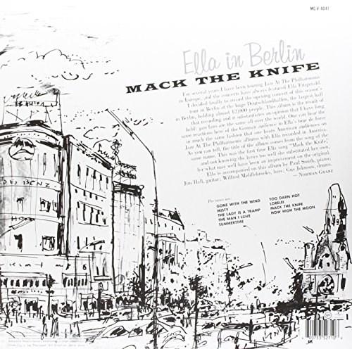 Ella Fitzgerald Mack The Knife Ella In Berlin Lp