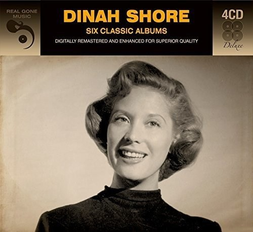 DINAH SHORE - Six Classic Albums (4CD)