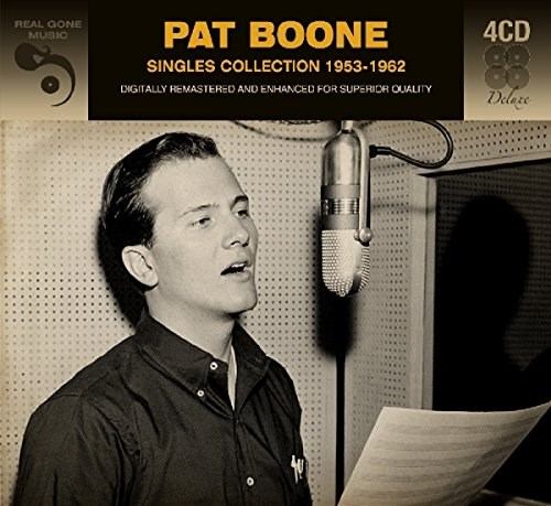 PAT BOONE - Singles Collection 1953 - 1962 (4CD)