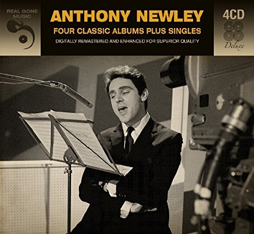 ANTHONY NEWLEY - Four Classic Albums Plus Singles (4CD)