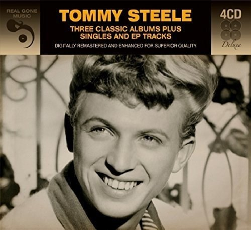 TOMMY STEELE	 - 3 Classic Albums Plus Singles And Ep Tracks (4CD)