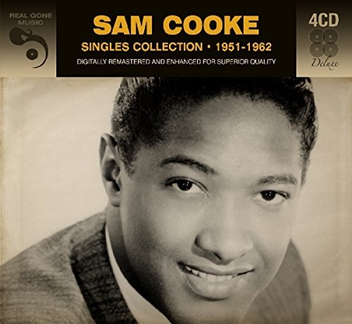 SAM COOKE - Singles Collection 1951 - 1962 (4CD)