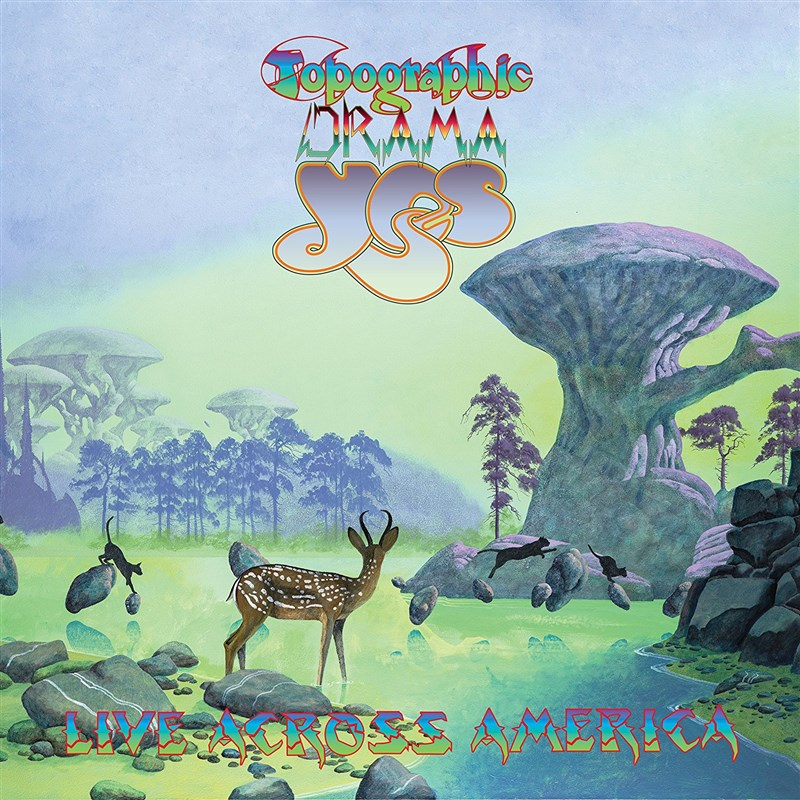 YES - Topographic Drama - Live Across America (2CD)