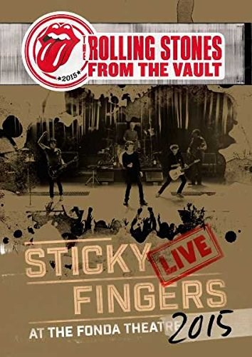 THE ROLLING STONES - From the Vault: Sticky Fingers Live at the Fonda Theatre 2015 - DVD