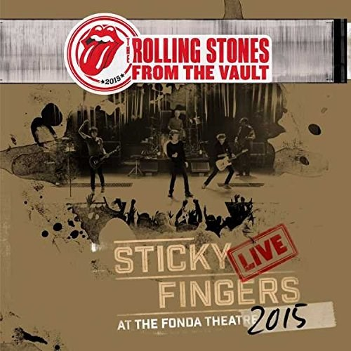 THE ROLLING STONES - From the Vault: Sticky Fingers Live at the Fonda Theatre 2015 - DVD+CD