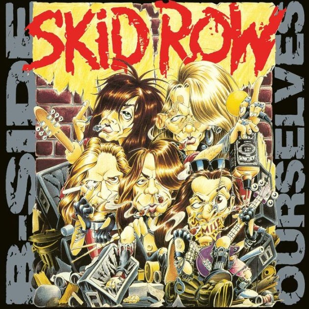 SKID ROW - B-Side Ourselves (EP) (Limited Edition Grey Vinyl) - LP