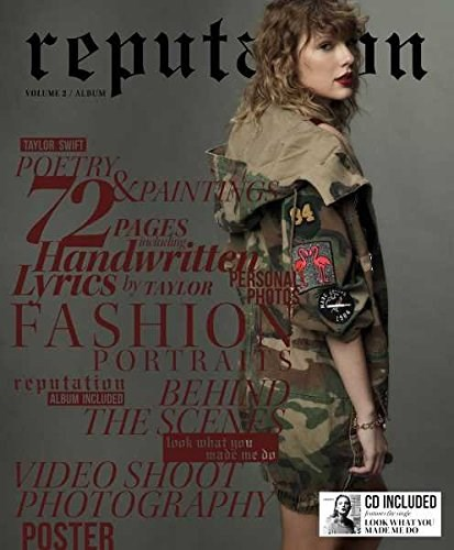 TAYLOR SWIFT - Reputation: Volume 2 (Magazine+CD Special Edition)