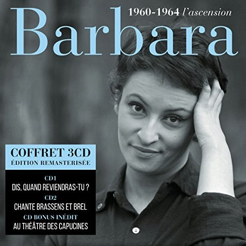 BARBARA - 1960-1964 L'Ascension (3CD)