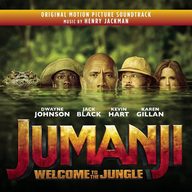 SOUNDTRACK - Jumanji: Welcome to the Jungle (Original Motion Picture Soundtrack)