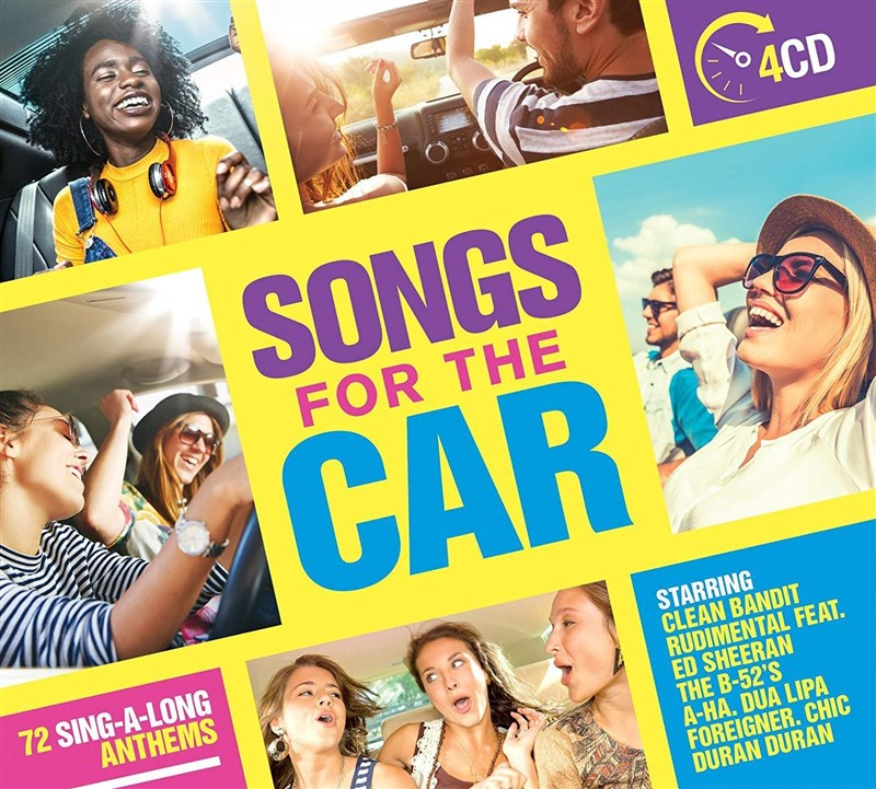 VARIOUS ARTISTS - Songs For The Car (4CD)