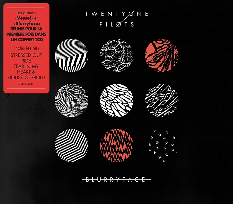 TWENTY ONE PILOTS - Vessel/Blurryface (2CD SET)