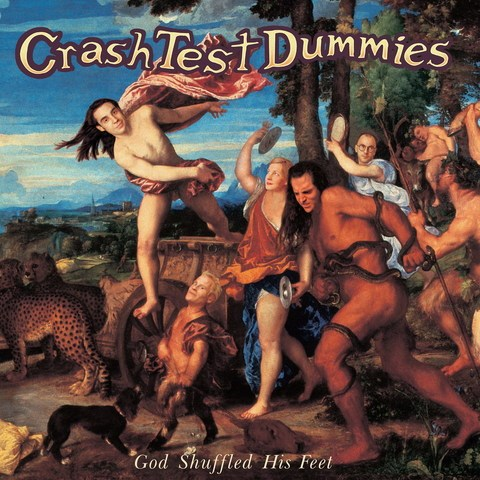 CRASH TEST DUMMIES - God Shuffled His Feet (25th Anniversary orange vinyl) - LP