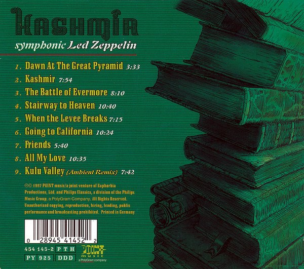 THE LONDON PHILHARMONIC ORCHESTRA - Kashmir: Symphonic Led Zeppelin