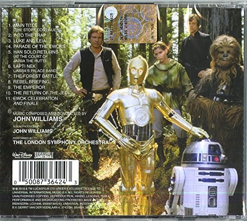SOUNDTRACK - Star Wars: Return Of The Jedi (Remastered edition)