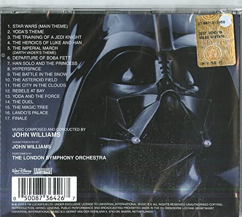 SOUNDTRACK - Star Wars: The Empire Strikes Back (Remastered edition)