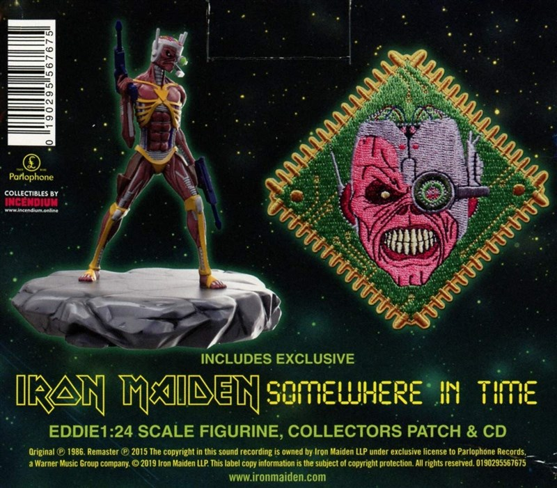 IRON MAIDEN - Somewhere In Time (Limited Collector's Edition) - BOX SET