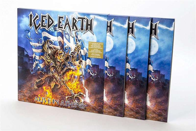 ICED EARTH - Alive in Athens - 5LP SET
