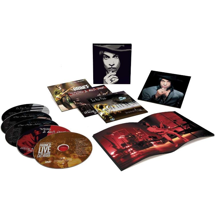 PRINCE - Up All Nite With Prince: The One Nite Alone Collection (4CD+DVD) - BOX SET