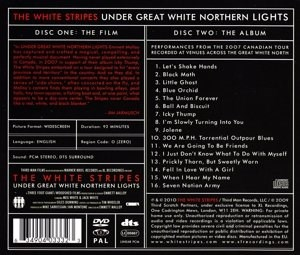 WHITE STRIPES - Under Great White Northern Lights - CD/DVD