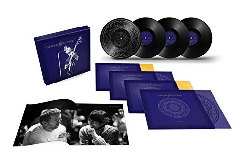 VARIOUS ARTISTS - Concert For George [4LP] - BOX SET