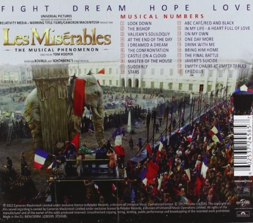 SOUNDTRACK - Les Miserables: Highlights from the Motion Picture Soundtrack