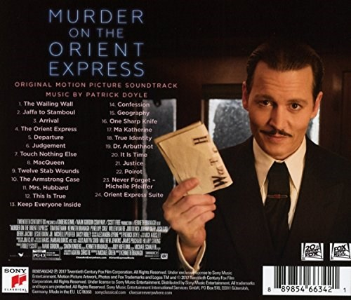 SOUNDTRACK - Murder on the Orient Express (Original Motion Picture Soundtrack)