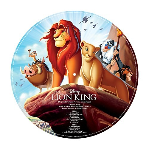 SOUNDTRACK - DISNEY - Lion King [LP Picture Disc]