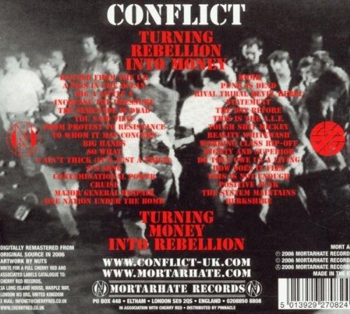 CONFLICT - Turning Rebellion Into Money
