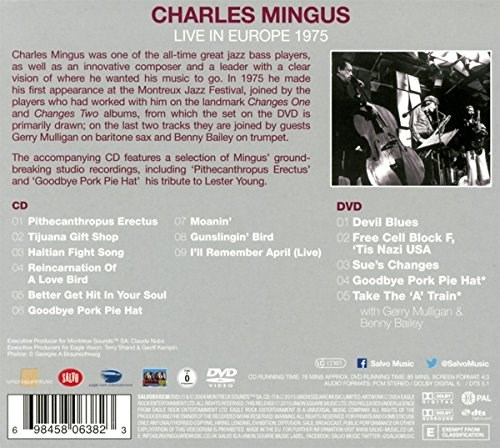 CHARLES MINGUS - Live in Europe 1975 - CD/DVD