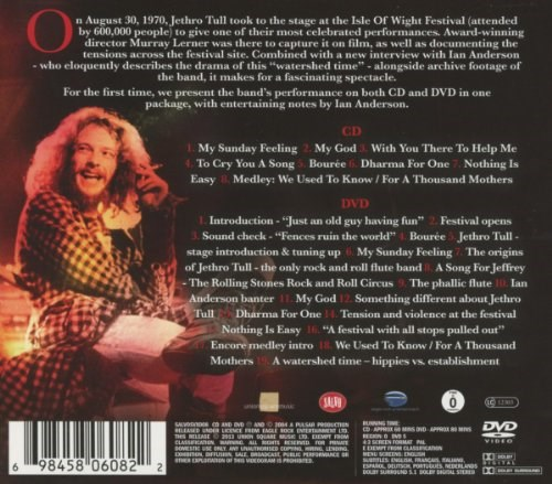 JETHRO TULL - Nothing Is Easy: Live at the Isle of Wight 1970 - CD/DVD