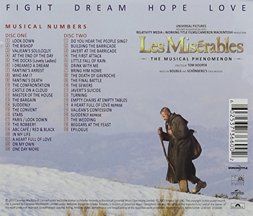 SOUNDTRACK - Les Miserables (Deluxe 2CD Edition)