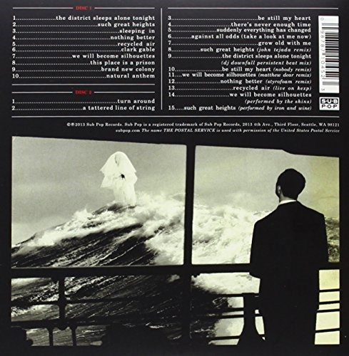 THE POSTAL SERVICE - Give Up - Deluxe 10th Anniversary Edition (2CD)