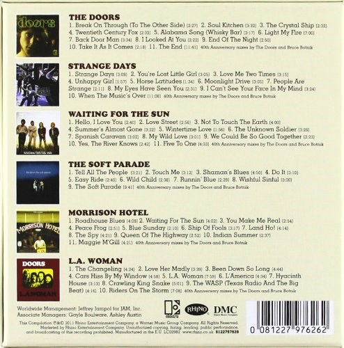 THE DOORS - The Collection (6CD SET)