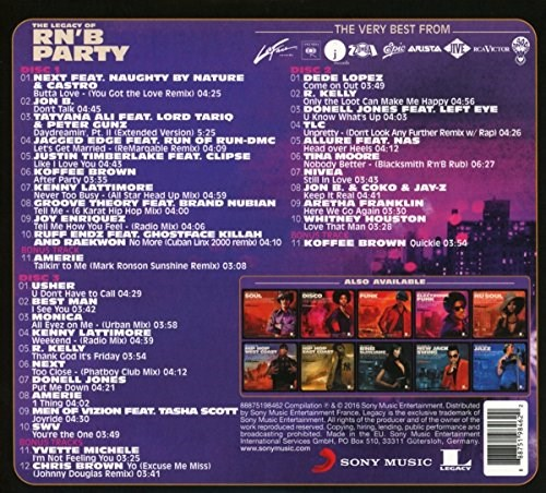 VARIOUS ARTISTS - The Legacy of Rnb Party (3CD)
