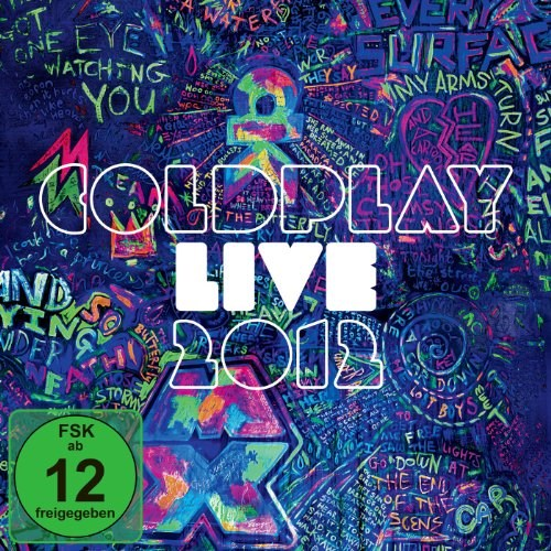 COLDPLAY - Live 2012 - CD/DVD Explicit