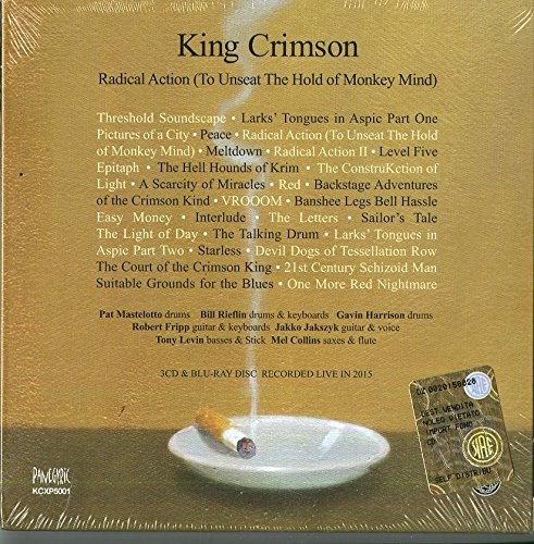 KING CRIMSON - Radical Action To Unseat The Hold Of Monkey Mind (3CD/1Blu-ray set)