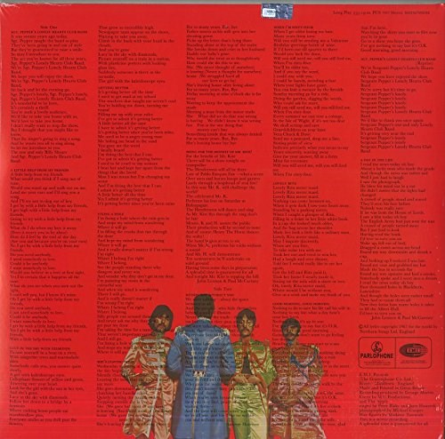 THE BEATLES - Sgt. Pepper's Lonely Hearts Club Band [2017 Stereo Mix] - LP
