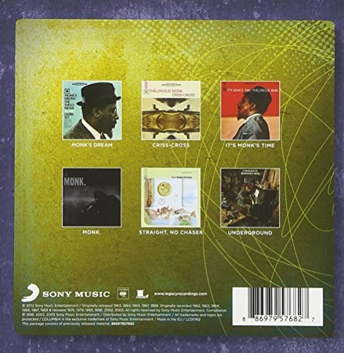 THELONIOUS MONK - Thelonious Monk: The Complete Columbia Studio Albums Collection (6CD BOX SET)