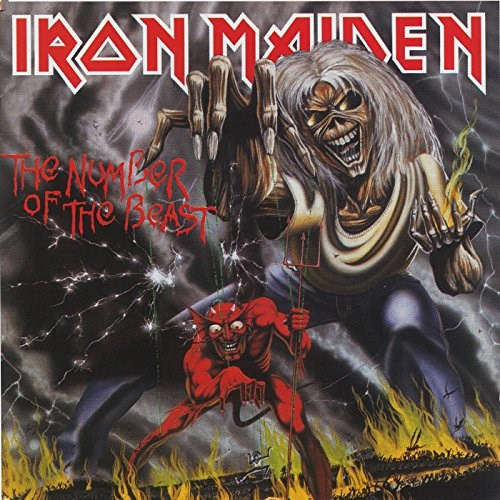 IRON MAIDEN - Number of the Beast - LP